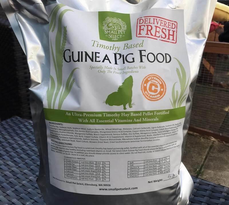 Small Pet Select Guinea Pig Pellet Food