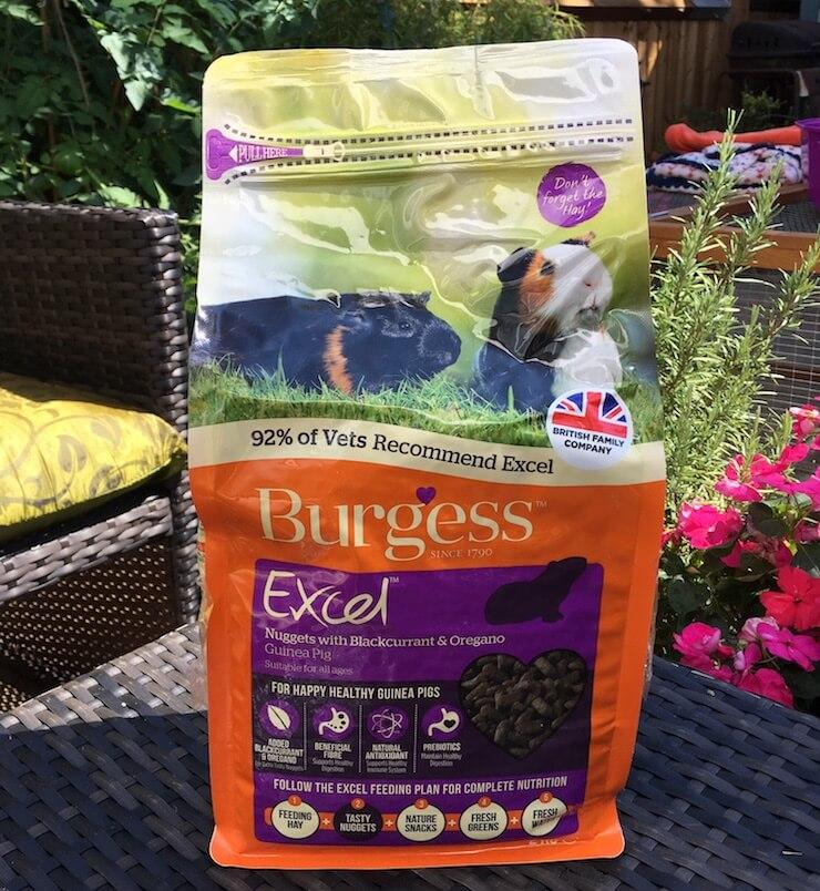 Burgess Excel Guinea  Pig Pellet Food